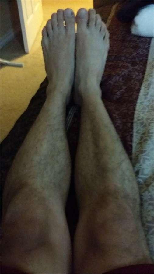 Gambe come un uomo