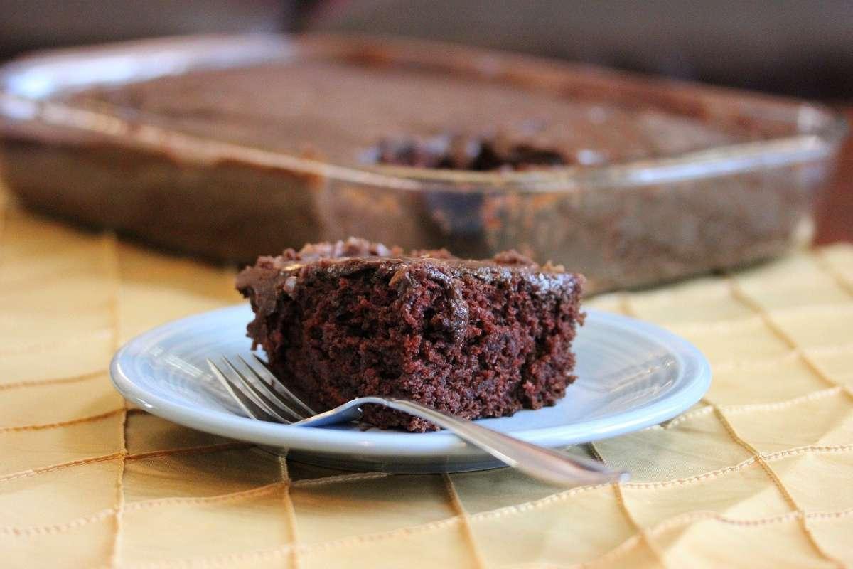 Mud Cake deliziosa