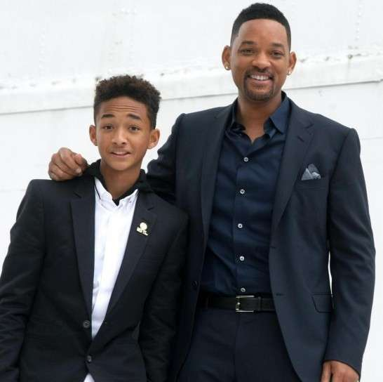 Will Smith e il figlio Jaden