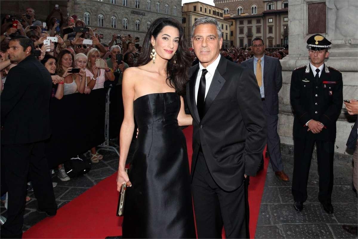 Amal e George Clooney al Festival di Venezia