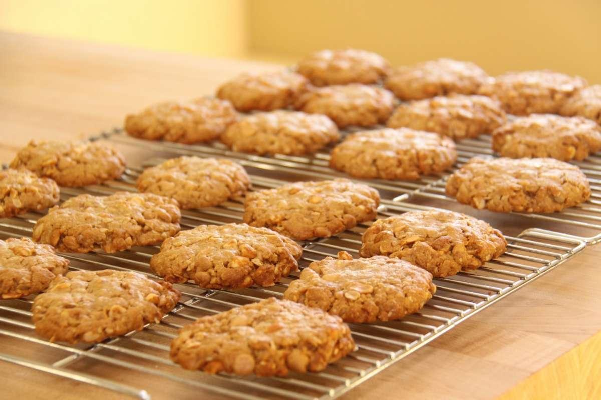 Biscotti con il burro d'arachidi