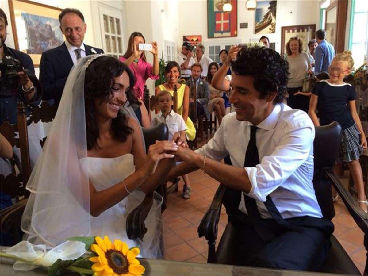 Caterina Balivo e Guido Maria Brera matrimonio civile