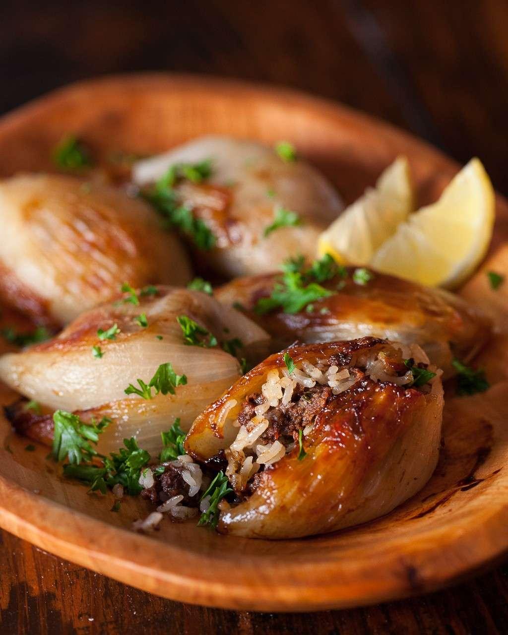 Cipolle alla libanese