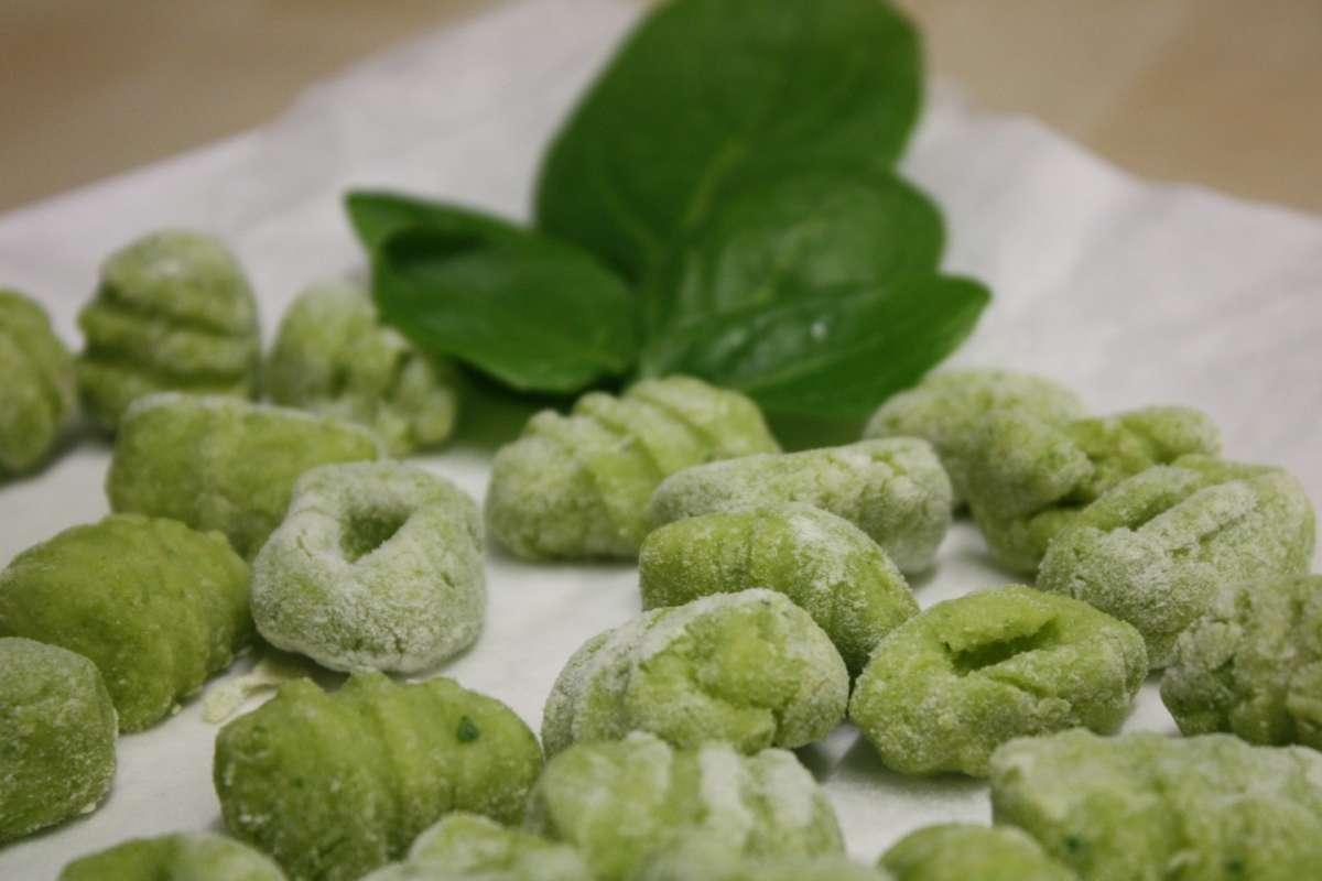 Gnocchi di spinaci pronti da cuocere