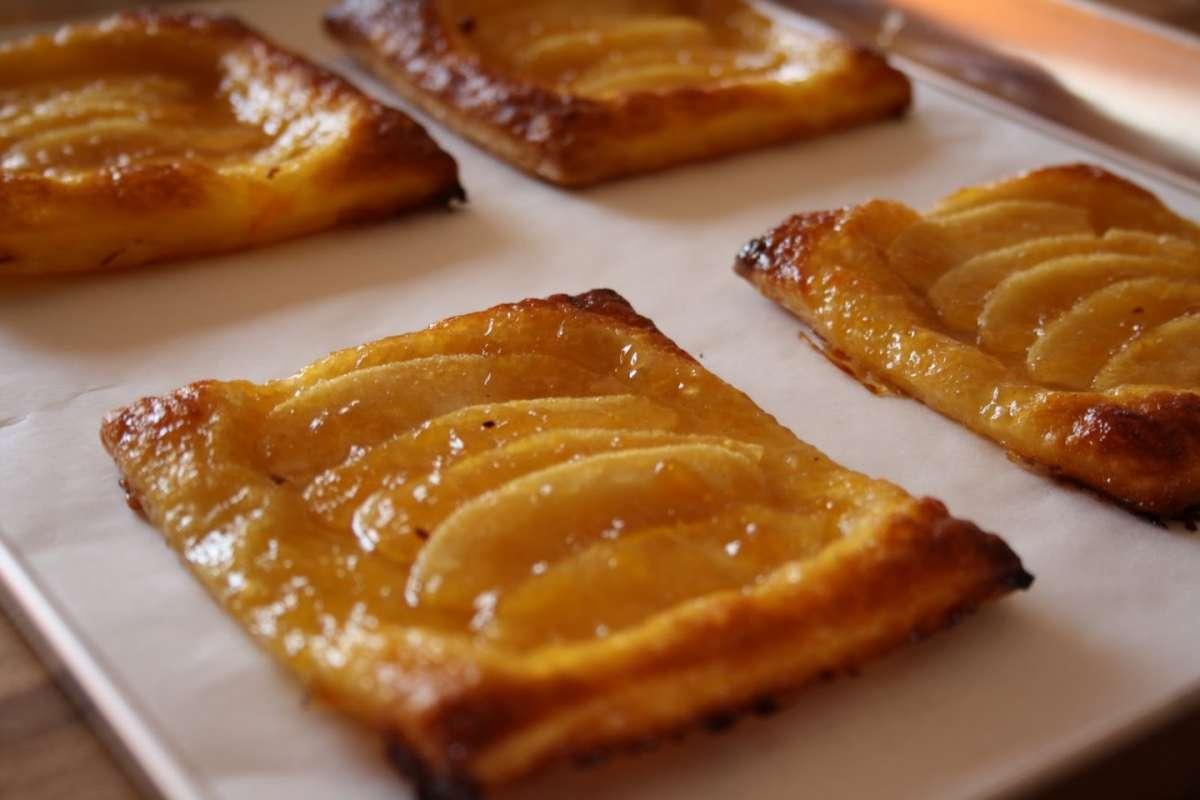 Pasta sfoglia con mele