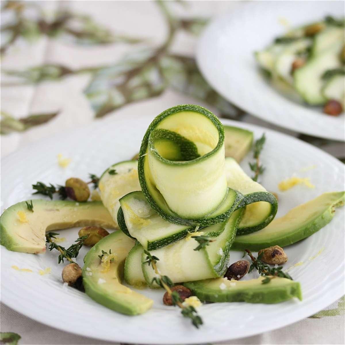 Variante carpaccio di zucchine