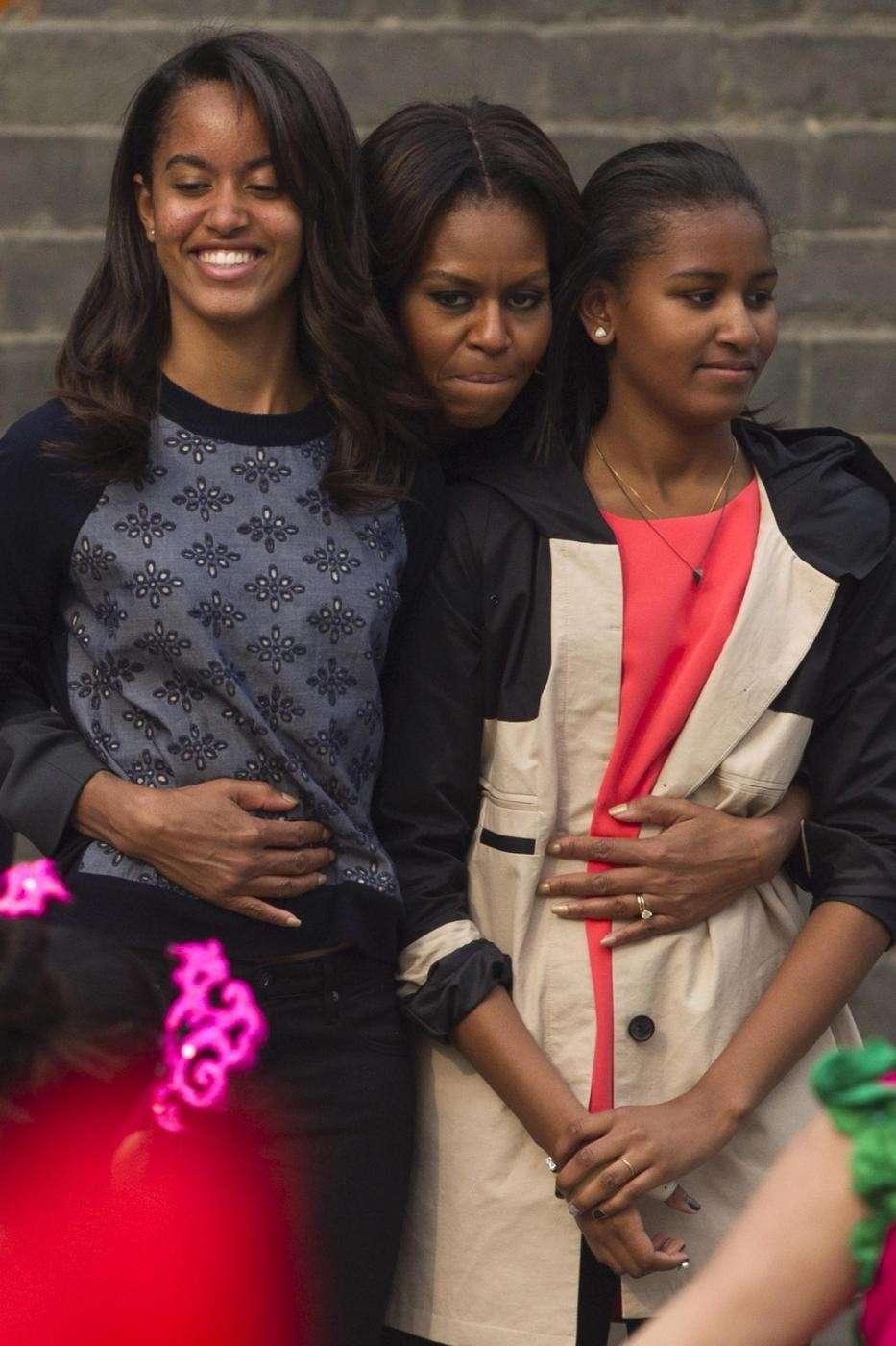 2. Sasha e Malia Obama