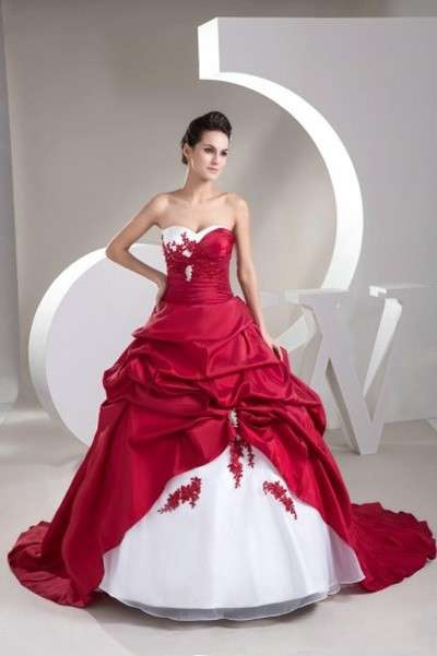 Molto Abiti da sposa rossi low cost FD46