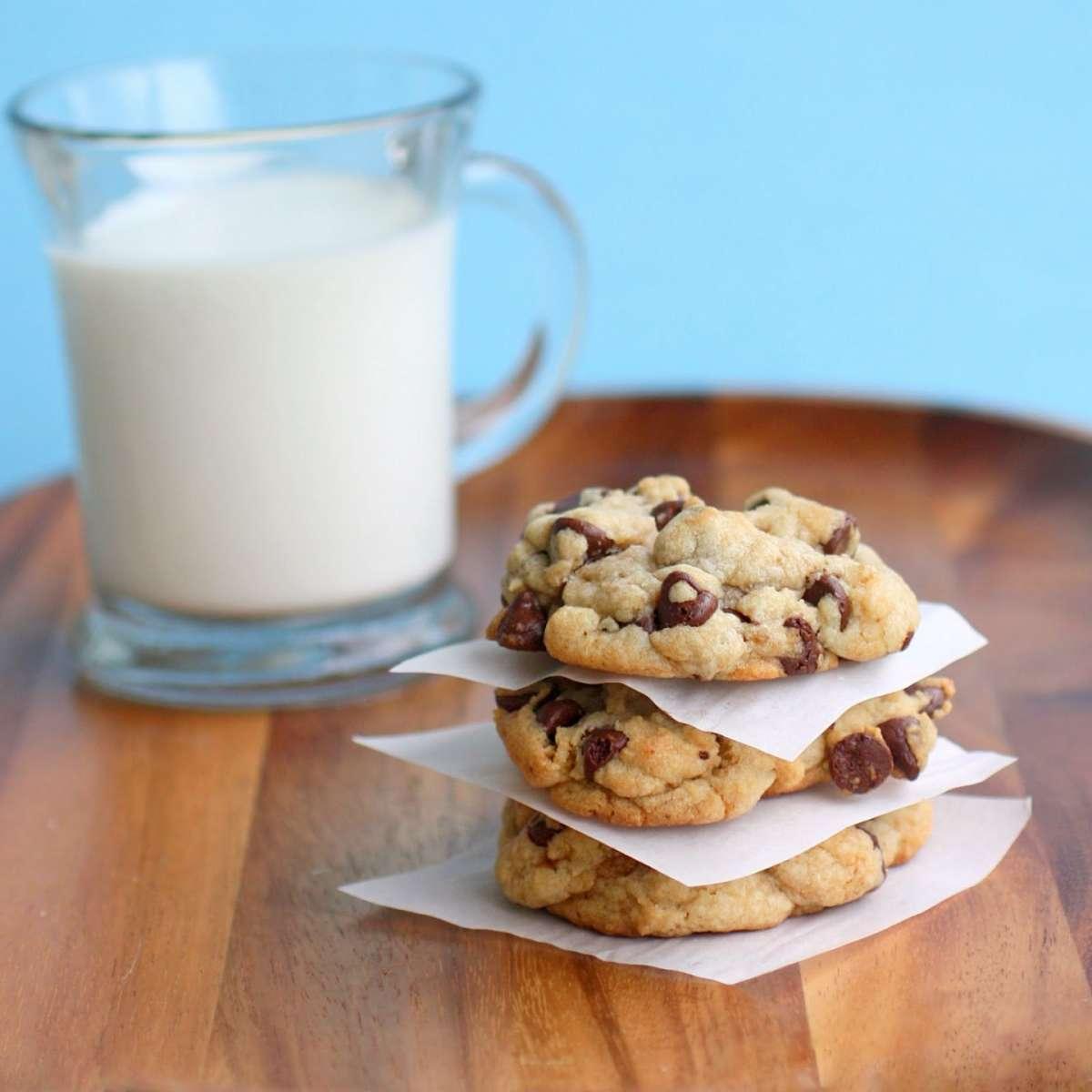 Biscotti al cioccolato e latte
