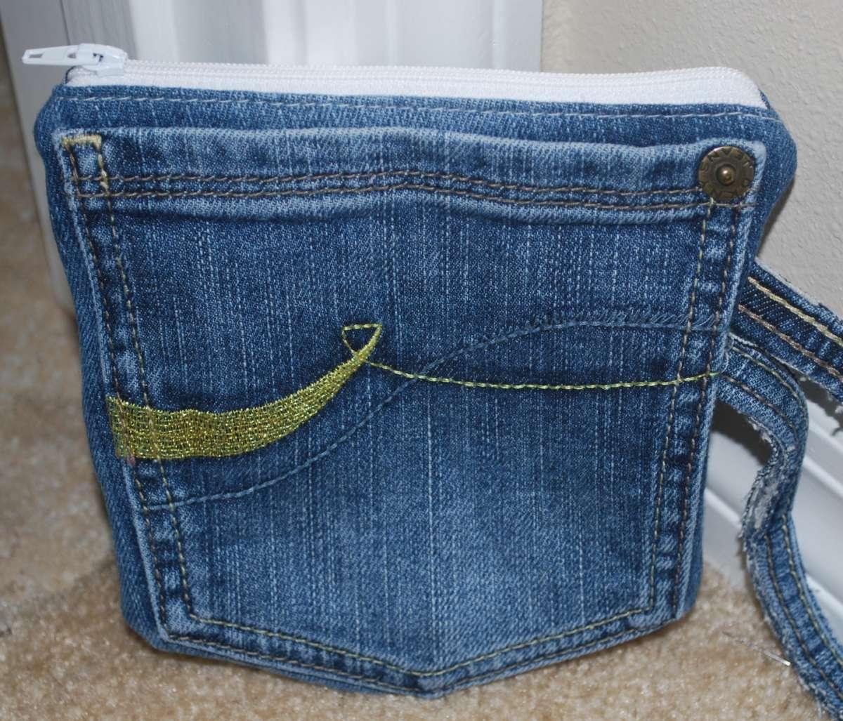 Borsa semplice di jeans