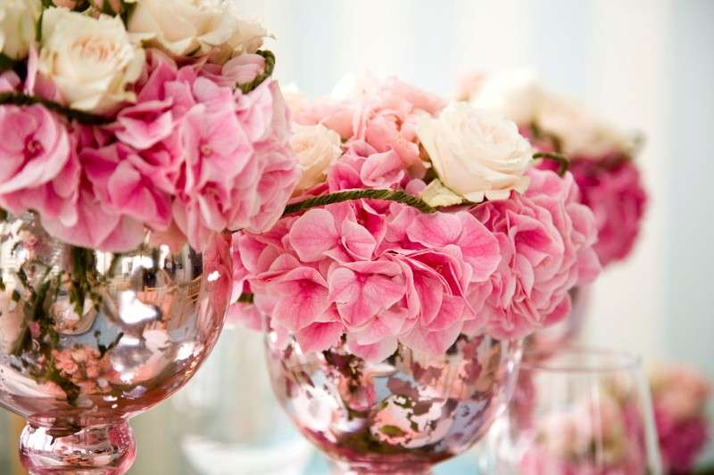 Centrotavola a fiori, tante idee originali