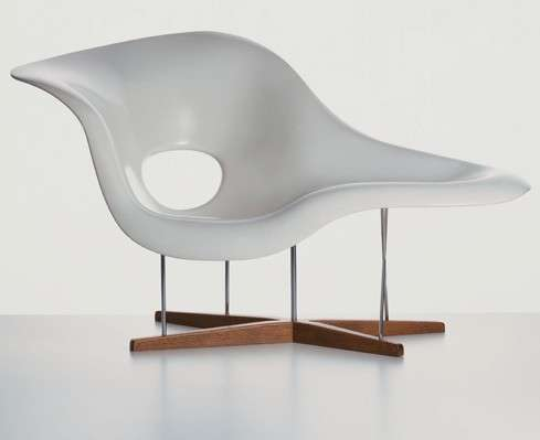 Chaise longue Vitra
