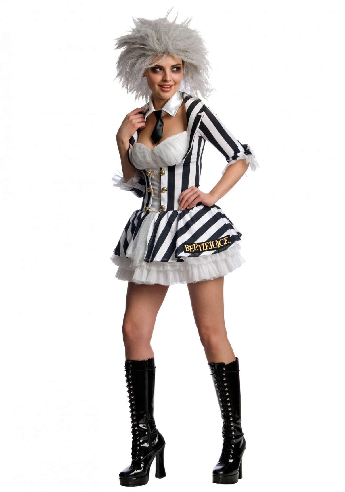Costume donna da Beetlejuice