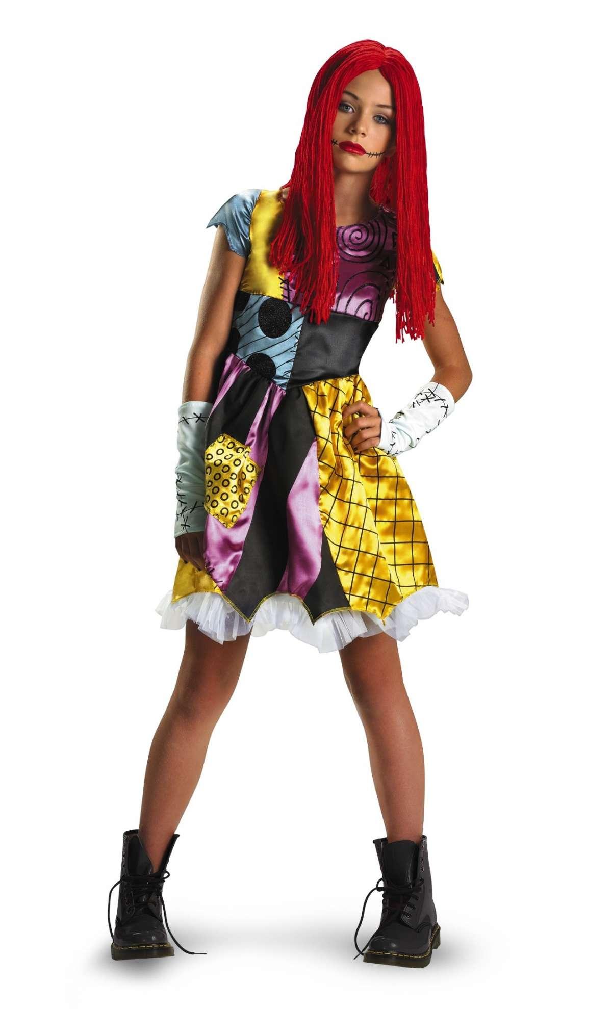 Costume ispirato al film Nightmare Before Christmas in versione rock