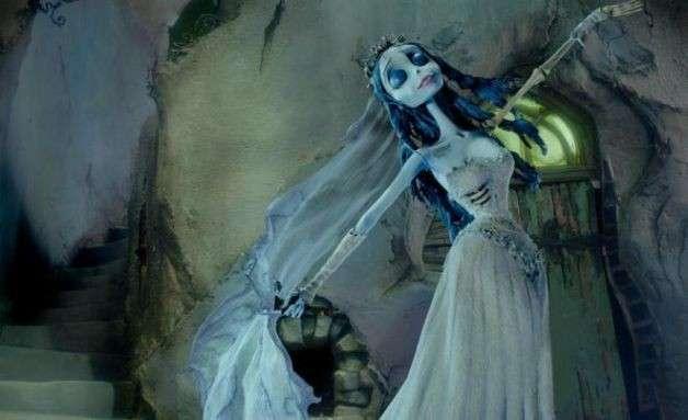 Costume per Halloween da sposa cadavere