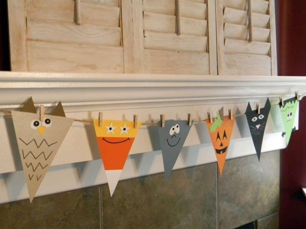 Halloween lavoretti bandierine