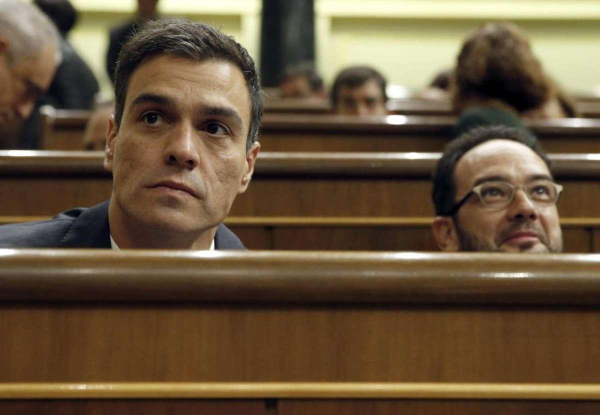Il segretario socialista spagnolo