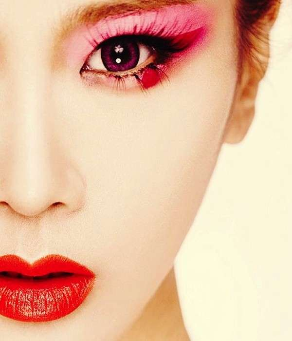 Make up giapponese, come una geisha