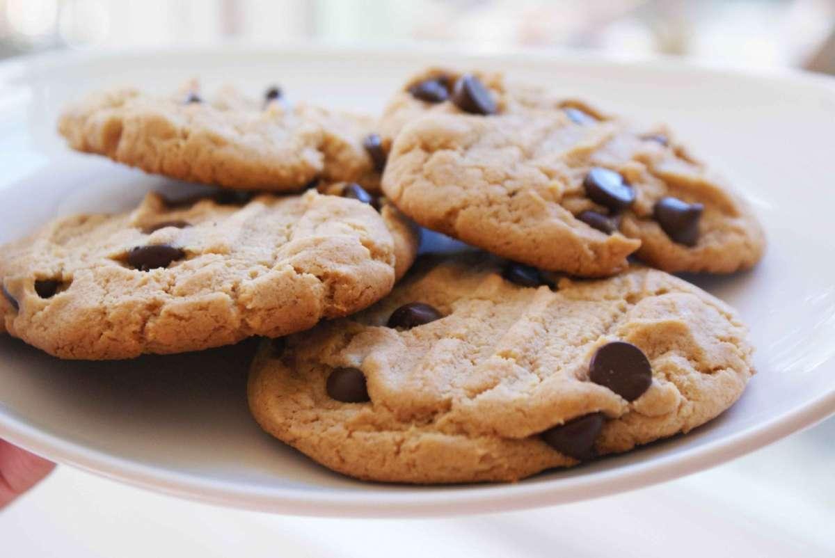 Piatto di biscotti
