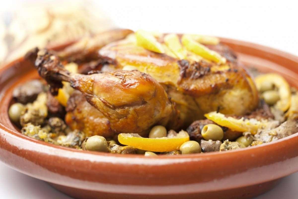 Tajine di pollo e verdure