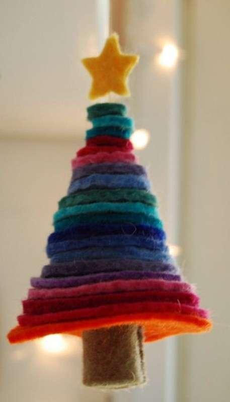 Alberello di Natale a cerchi concentrici