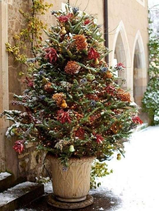 Albero di Natale da esterno per il giardino