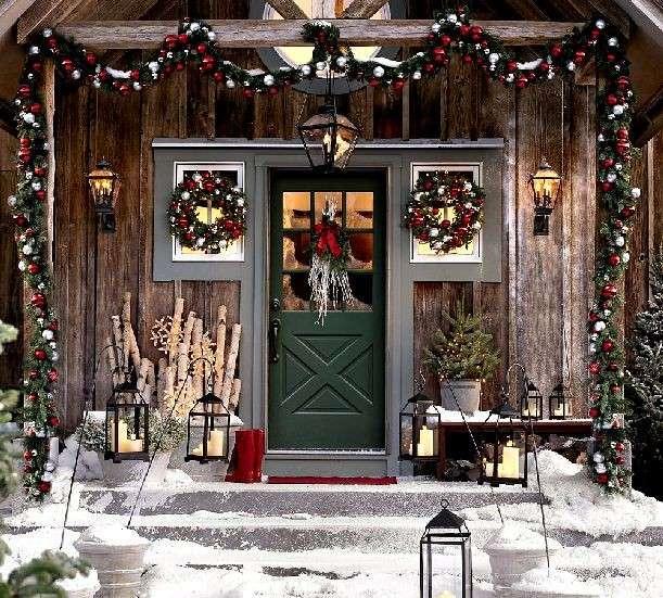 Arredare il giardino a Natale: idee originali