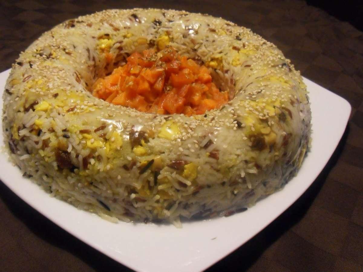 Ciambellla di riso speziata