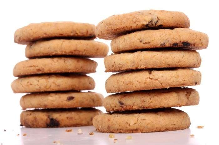 Cookies senza zucchero
