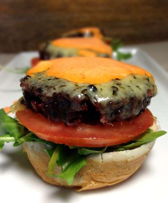 Hamburger di lenticchie vegetariano
