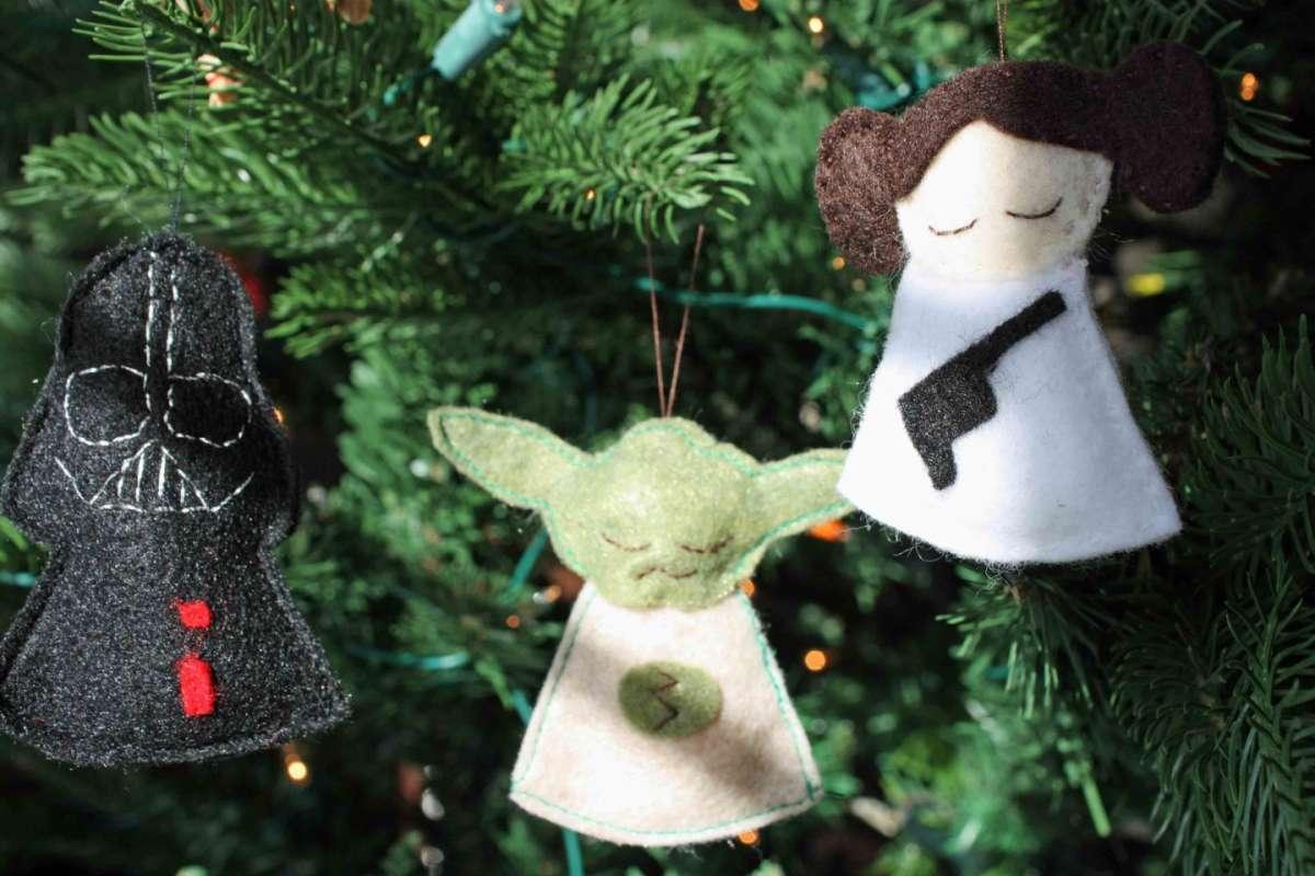 Lavoretti per Natale con il pannolenci: idee creative