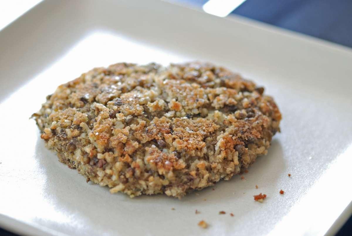 Ricetta burger con lenticchie