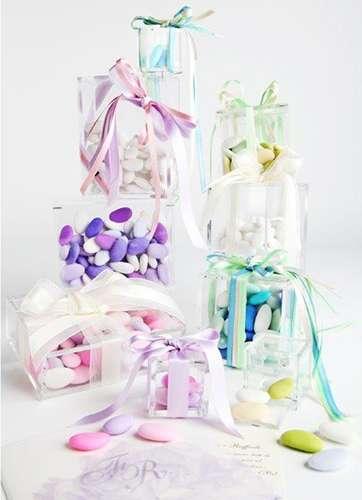 Scatoline per confetti