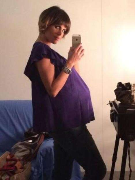 Selfie dell'attrice pugliese