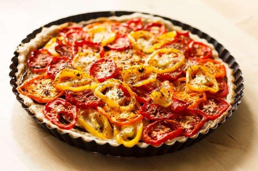 Torta ai peperoni