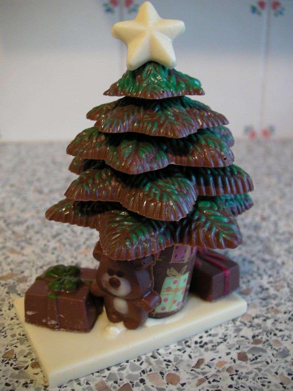 Albero in cioccolato