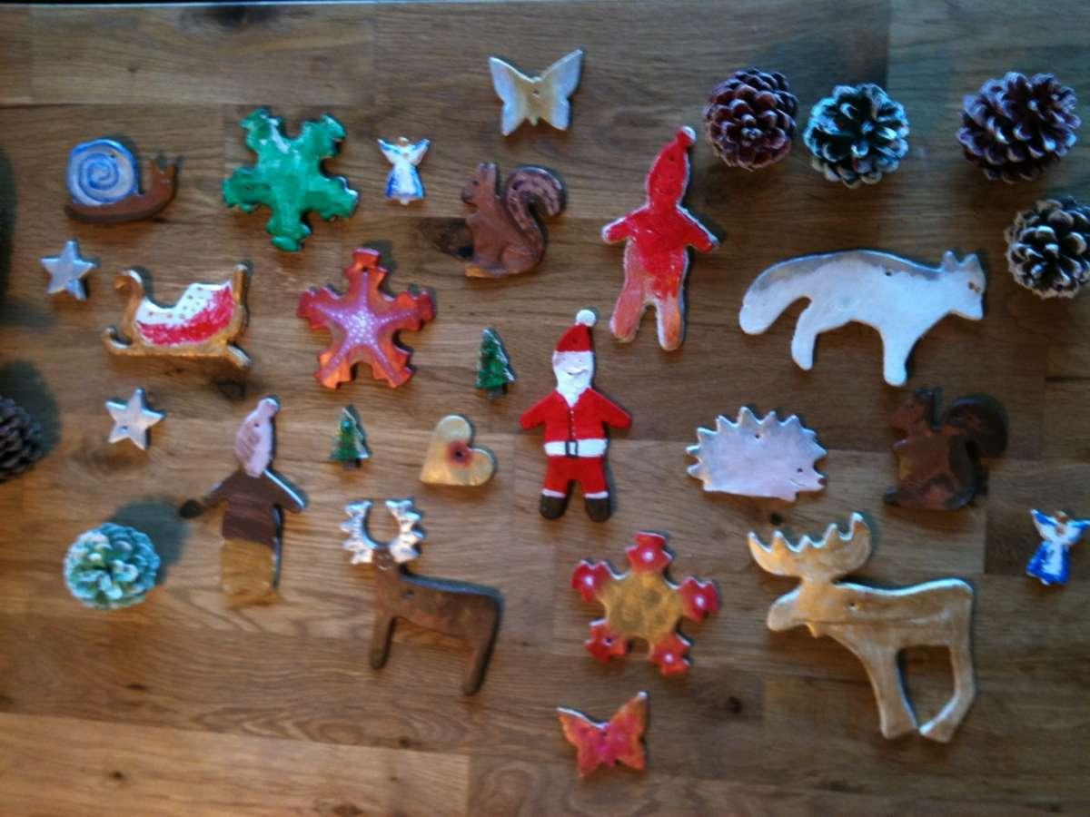 Animaletti e forme decorative