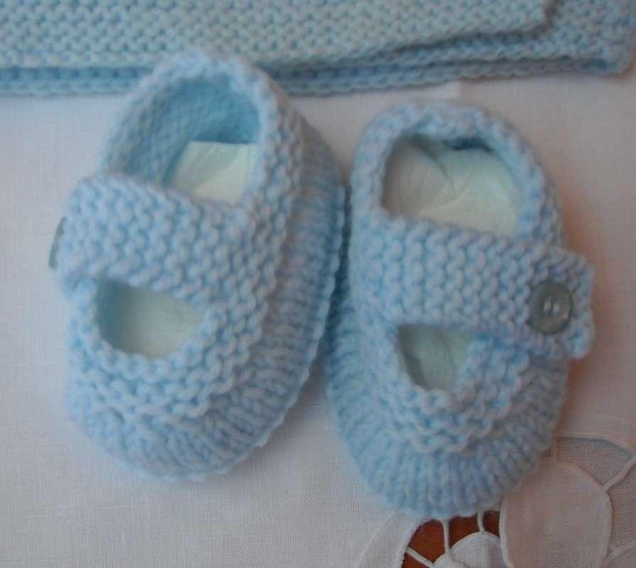 Babbucce crochet mini