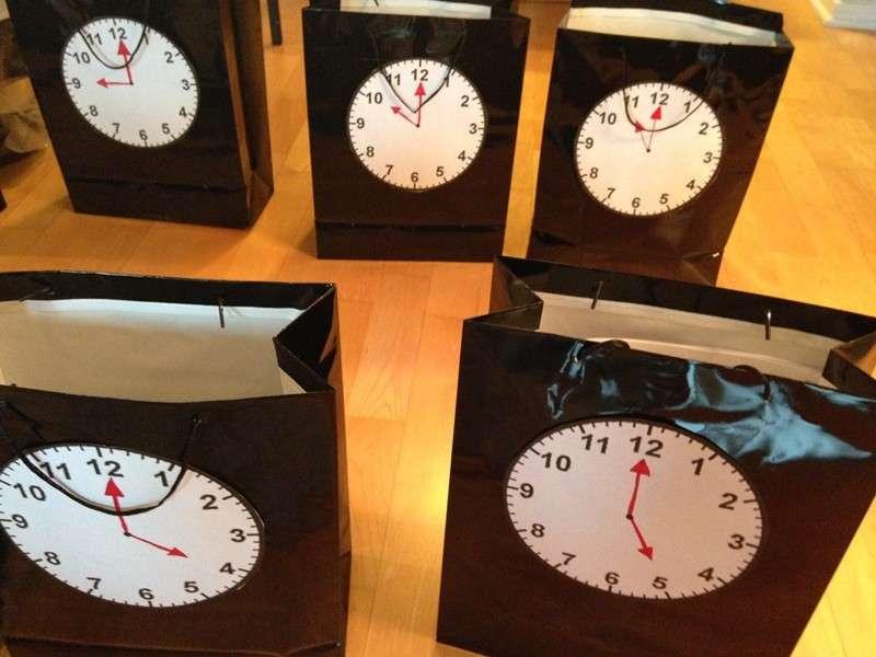 Borse con orologio