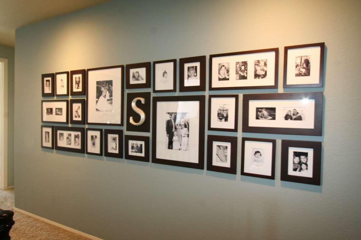 Composizione di foto per il corridoio