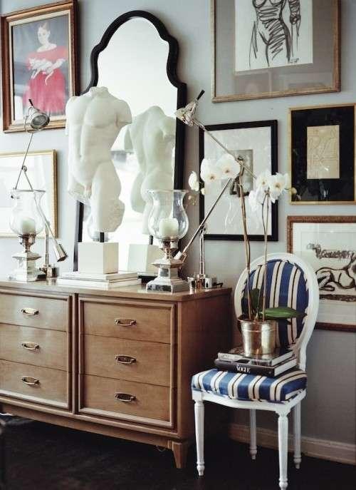 Fotografie per un salotto vintage