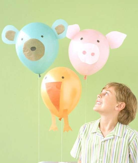 Palloncini con animali per bambini