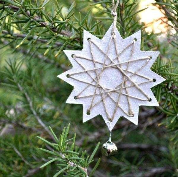 Stellina per l'albero di Natale