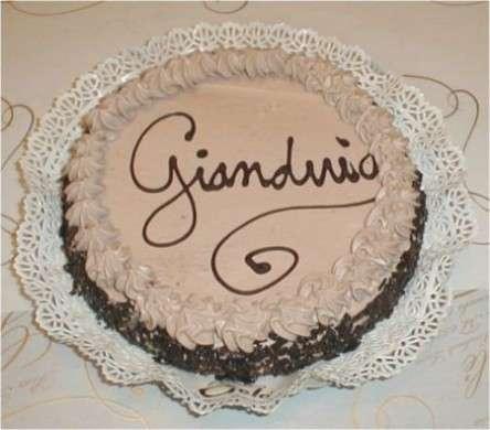Torta gianduia semplice