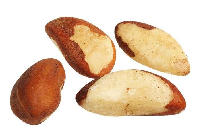 Alimenti ricchi di zinco, noci brasiliane