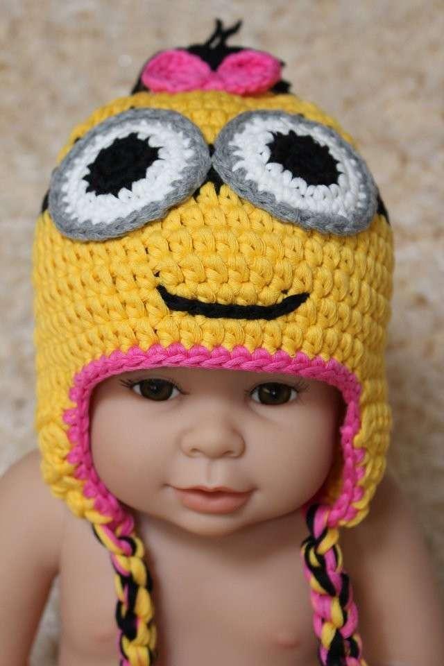 Cappellino con occhi