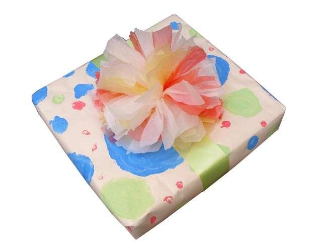 Pacchetto regalo con i sacchetti