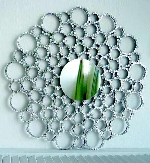 Specchio con le pailettes