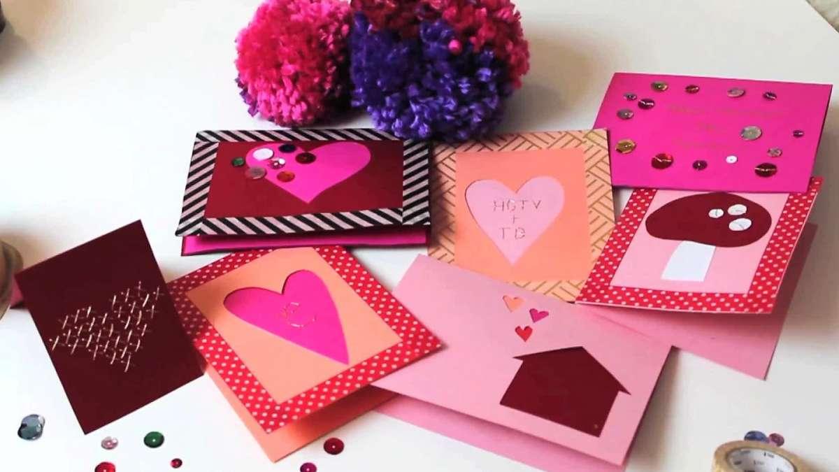 Biglietti romantici per San Valentino