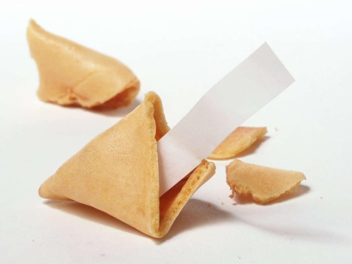 Biscotti cinesi con bigliettino
